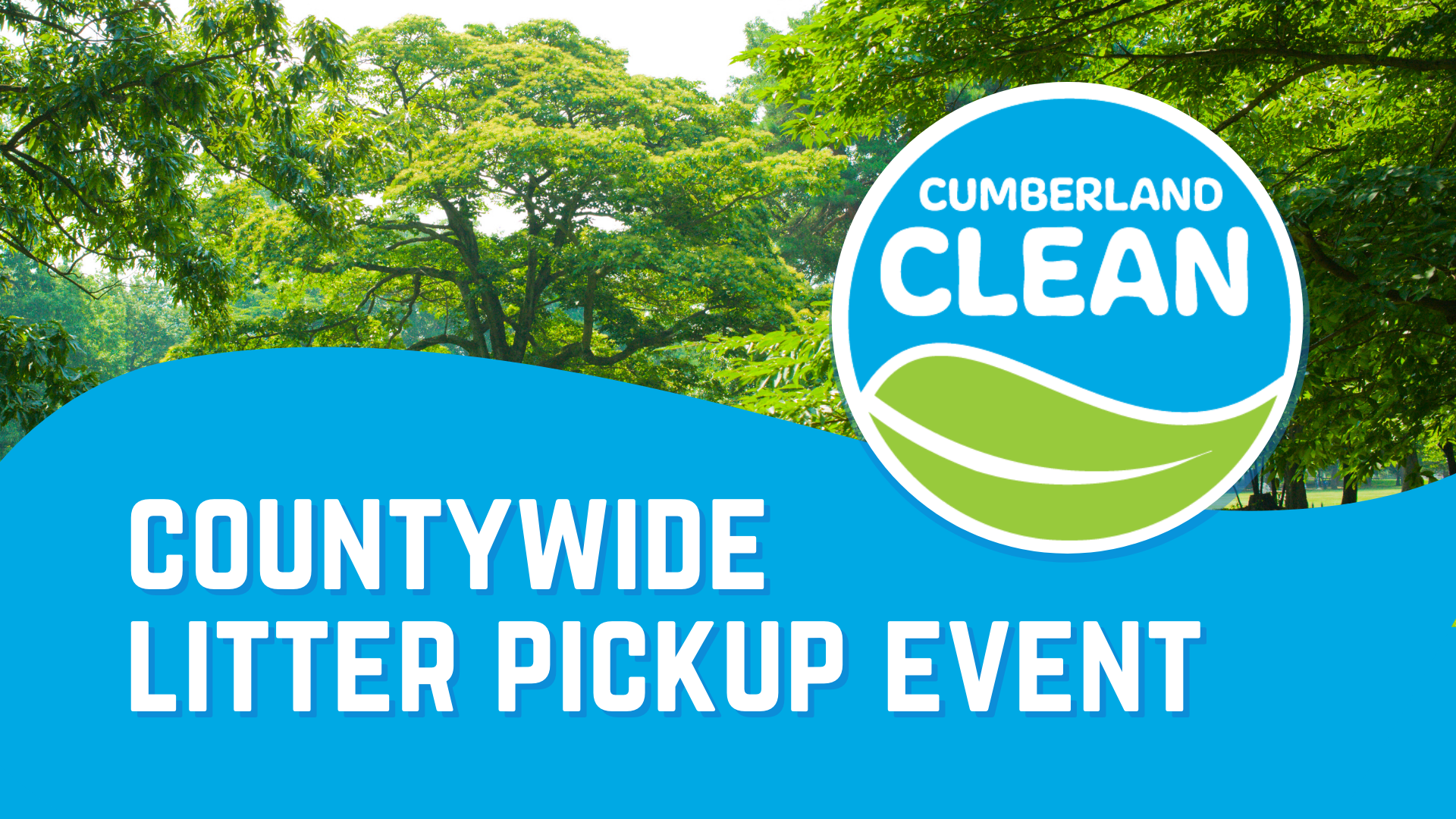 cumberland clean countywide litter pickup event