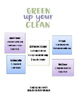 HH Green Cleaning Kit Flyer