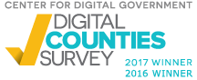 Digital Counties Survey Winner - 2016 and 2017